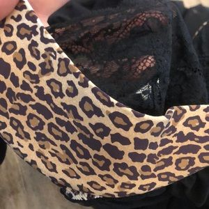 36c Teddy leopard and lace